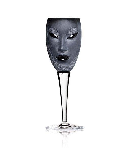Electra Wineglass, black