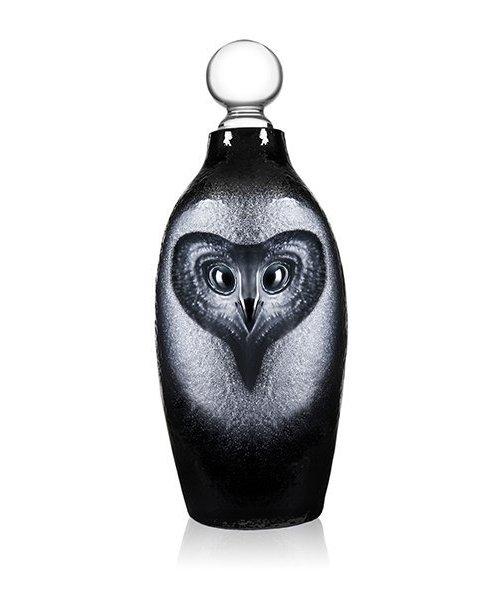 Strix the Blood Owl Decanter black