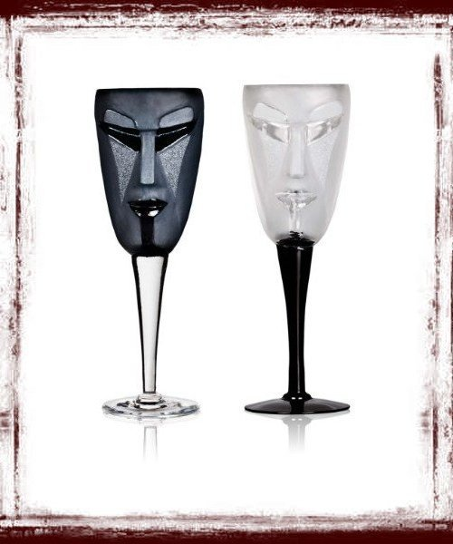 Amazing Wine Glasses Kubik