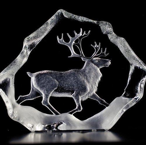 Male Reindeer clear Ltd Ed 975 pcs