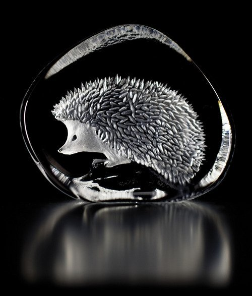 Hedgehog clear crystal
