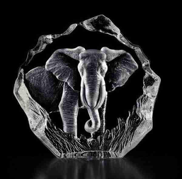 33631 Big Bull Elephant clear