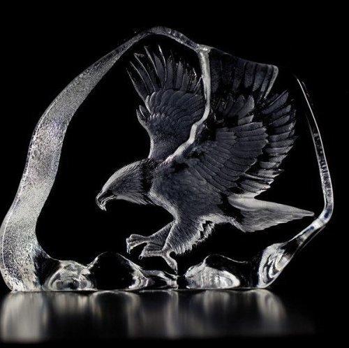 33894 Eagle in Flight Original Large