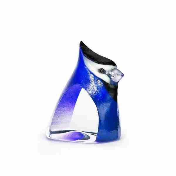 Birdie Blue Sculpture