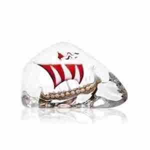 Great Viking Ship Large red